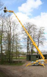 bursa manlift - 37 m örümcek platform