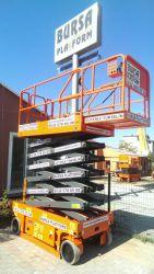 bursa manlift - 14 m Makaslı Platform Manlift ( AKÜLÜ )