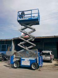 bursa manlift - 12m Arazi Tipi Makaslı Platform ( DİESEL )